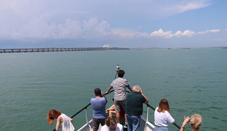 Excursion in the Kerch Strait